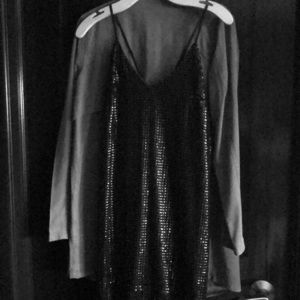 "Marciano Dressy Black ""Flapper"" dress - Size M"